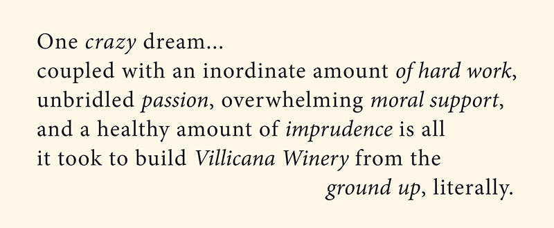 Villicana Winery Dream